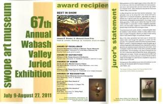 Swopes Viewer's Choice Award Brochure