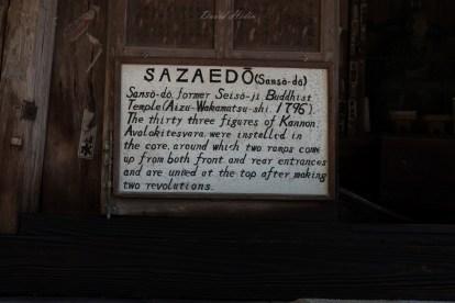 Le temple bouddhiste Sazaedô.
