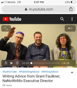 The Book Doctors & National Novel Writing Month's Grant Faulkner on Writing & Publishing Success