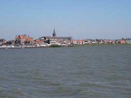 Volendam from the ferry