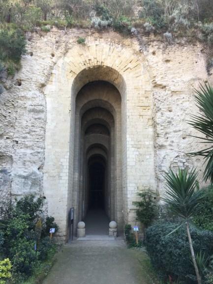 The Entrance to the Grotta di Seiano