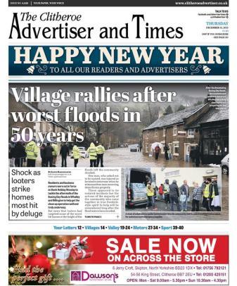 floods thurs clitheroe