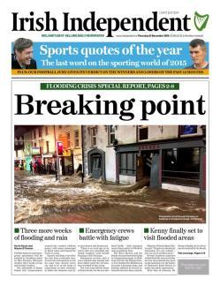 floods thurs irish