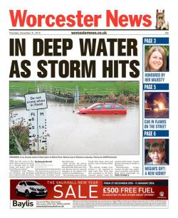 floods thurs worcester