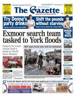 floods wed exmoor