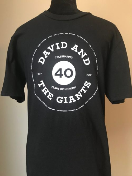 40th Anniversary T-Shirts (Black)