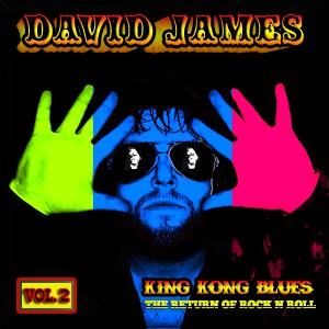 Album King Kong Blues Vol.2 CD By David James In Boston
