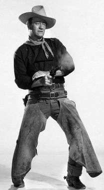 John Wayne dégaine