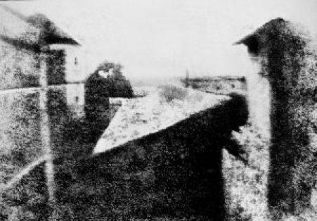Le point de vue du Gras - Joseph Nicéphore Niépce (1826)