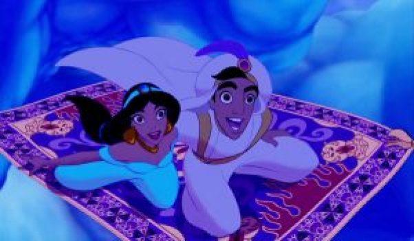 Princesse Jasmine - les yeux grands ouverts