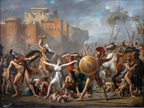 Les Sabines - 1799 - Jacques-Louis David