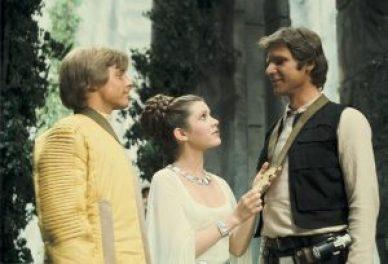 Luke Skywalker et Han Solo (princesse Leia dans le rôle du vase)