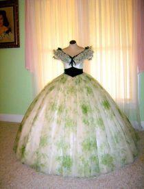 Robe de pique-nique Scarlett O'Hara