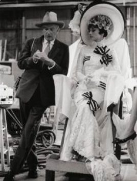Cecil Beaton & Audrey Hepbrun (Costumier sur My fair Lady)