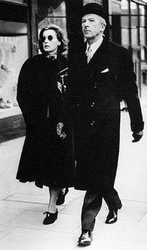 Cecil Beaton and Greta Garbo