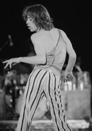 Mick Jagger dancing