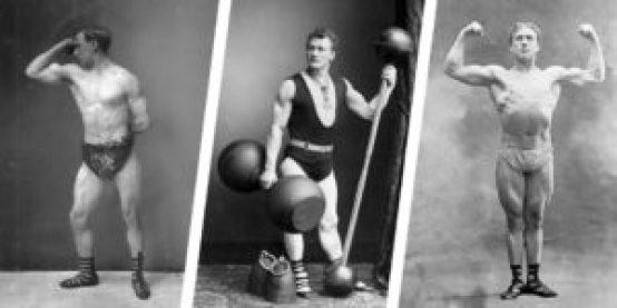 Mr. Eggleton Eugene Sandow, Lionel Strongfort