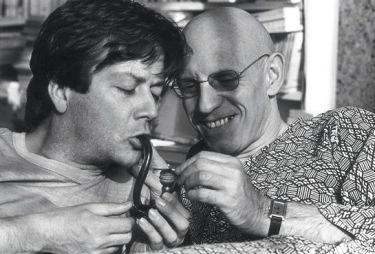Daniel Defert et Michel Foucault