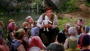 Danny Kaye, dans le rôle titre du film Hans Christian Anderson