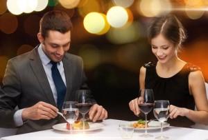 Premier diner - couple hétéro