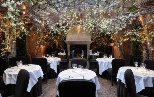 restaurant romantique - Clos Maggiore à Londres