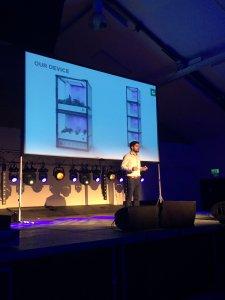 CEO Christos presenting CityCrop