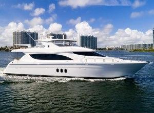 80′ Hatteras Motoryacht 2013