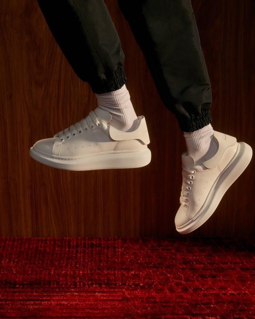 mens designer sneakers alexander mcqueen