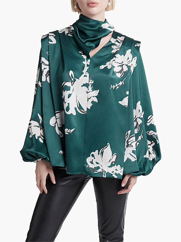 winter floral womens clothing