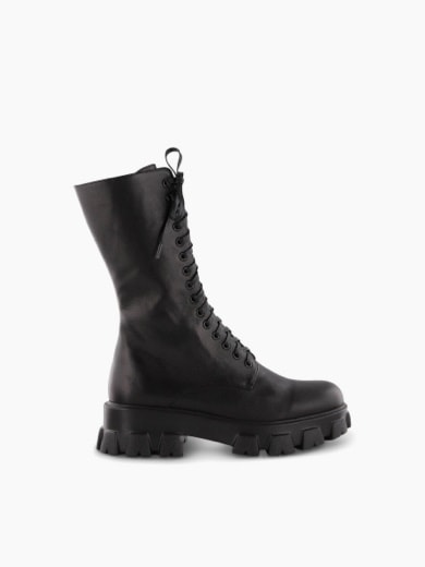 womens boots chunky combat