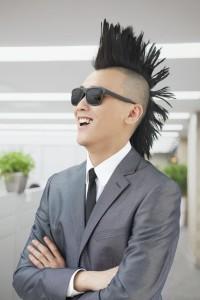 Punk in Suit