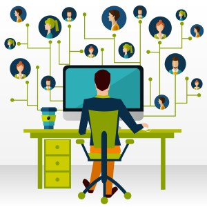 network cartoon web