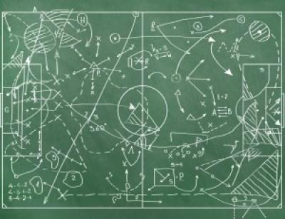 blackboard game strategy plan