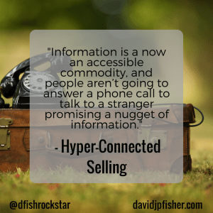 Hyper-Connected Selling Idea #15