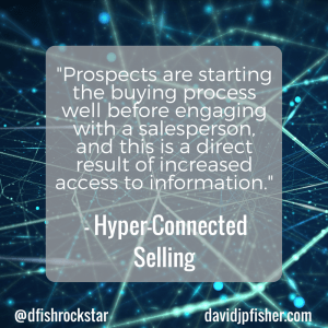 Hyper-Connected Selling Idea #16