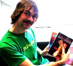 Fans of David J Rodger science fiction fantasy author and RPG creator 16