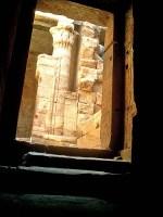 Ancient doorway - Egyptian tomb