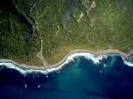 New Zealand South Island coastline