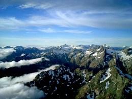 New Zealand South Island Mountain Range