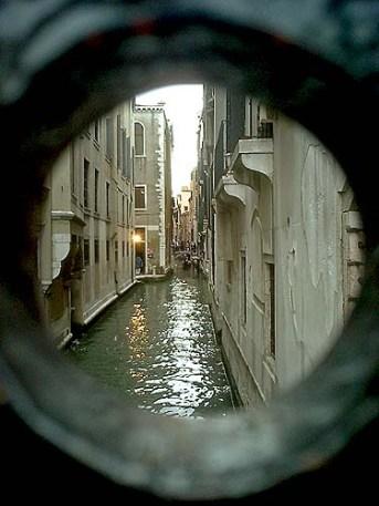Venice through the keyhole