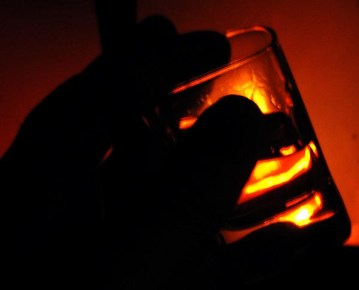 whisky-by-firelight