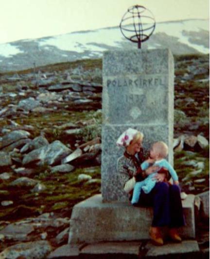 1970 - Mum, Djr - Polar Circle Norway