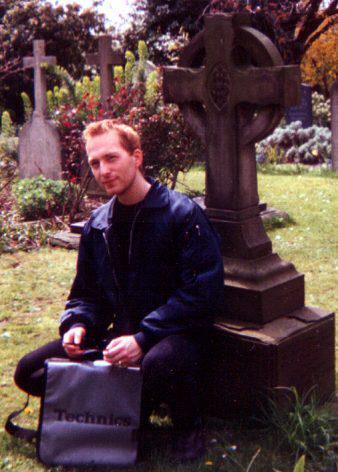 1996 - Djr - Bristol my fave bomber jacket and technics bag