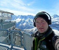 2011 - Djr - atop the Schilthorn film location for the Bond movie On Her Majesty's Secret Service