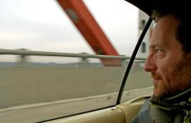 2011 - Djr - Driving across Tappan Zee bridge and reflecting on its appearance within the post-apocalyptic novel Dog Eat Dog