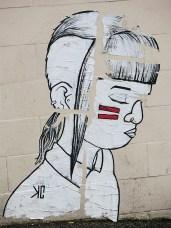 street art Bristol UK - KC