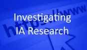 Investigating IA Research