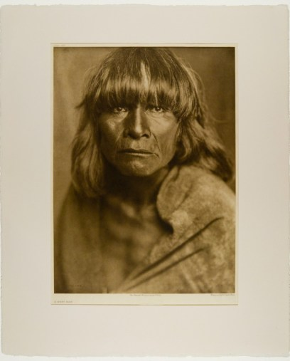 A Hopi Man (Edward S. Curtis) the photogravure that originally inspired me over thirty years ago