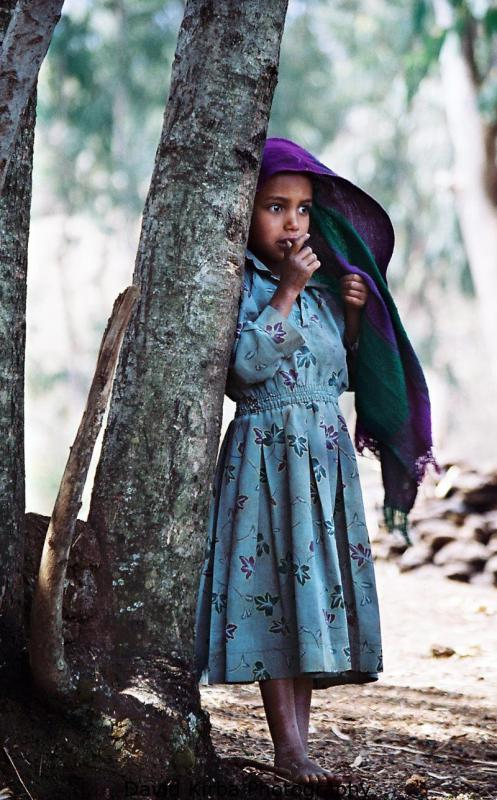 Young village girl, northern Ethiopia
