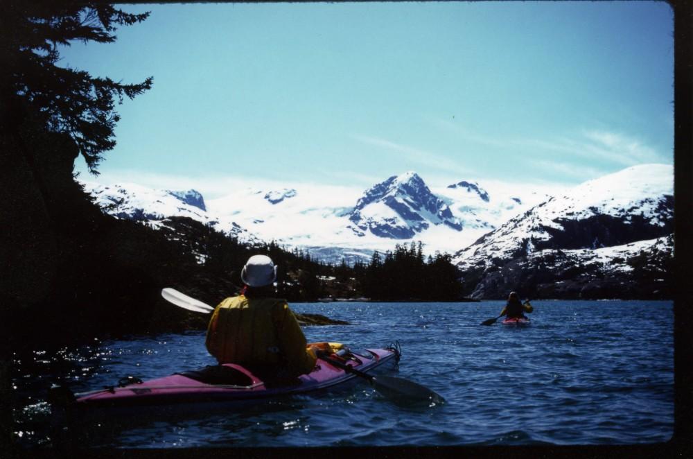 David Kundtz On Prince William Sound, Alaska (Photo by Margaret Kundtz)